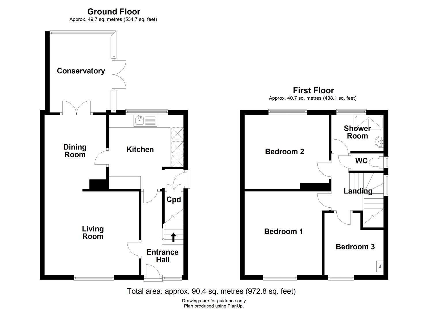 Neale Close, Cambridge, Cambridge floorplan